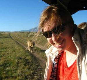 Me on safari!