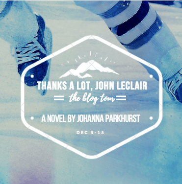 #BookReview: THANKS A LOT, JOHN LECLAIR by Johanna Parkhurst