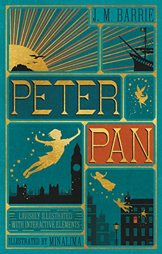 Peter Pan MinaLima cover