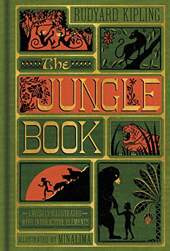 The Jungle Book MinaLima cover
