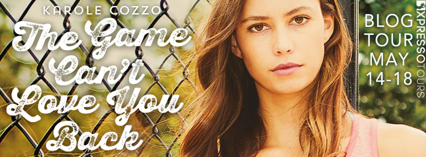#BookReview: THE GAME CAN'T LOVE YOU BACK by Karole Cozzo