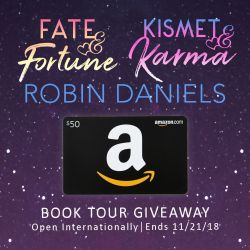 #Spotlight + #Giveaway: FATE & FORTUNE and KISMET & KARMA by Robin Daniels