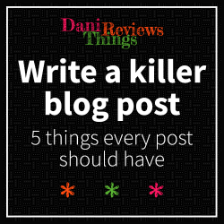 #CollaborativePost: Five things every blog post should have