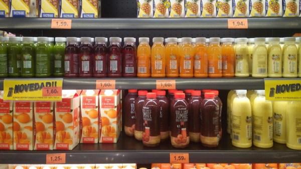 El azucar de la fruta y los zumos