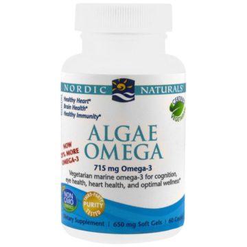 Omega 3 DHA de algas para veganos