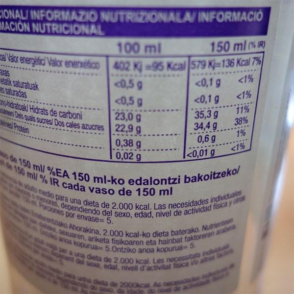 zumos de uva ekolo ecologicos