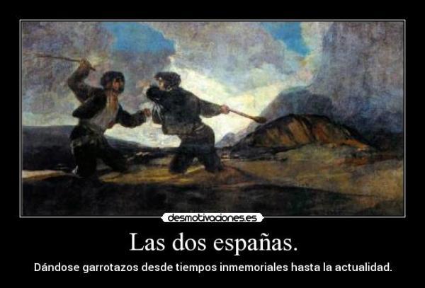 Las dos españas VOX y Podemos