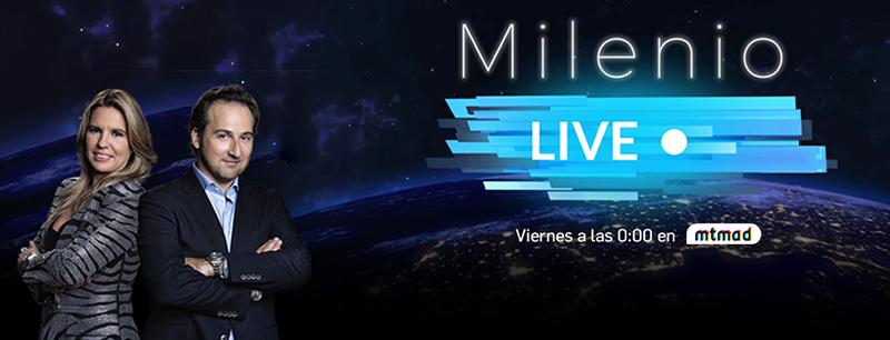 Milenio Live sobre el coronavirus iker jimenez y carmen porter