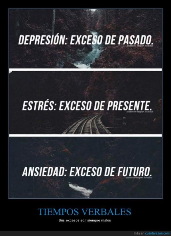 ansiedad estres y depresion, futuro presente y pasado, coronavirus
