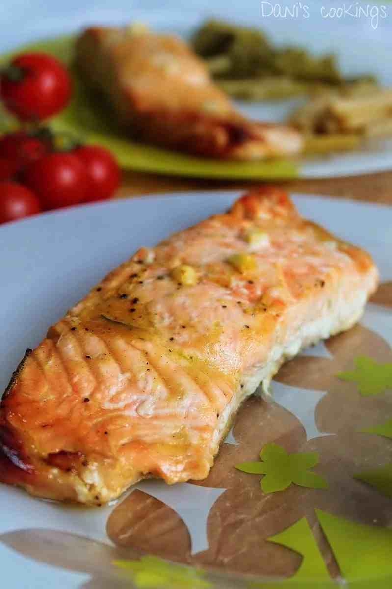 [:en]Honey Mustard Salmon[:bg]Сьомга с мед и горчица[:]