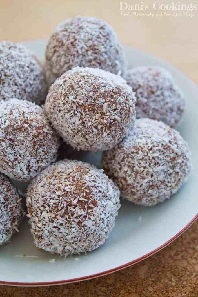 Delicious Coconut Peanut Butter Truffles | Dani' Cookings