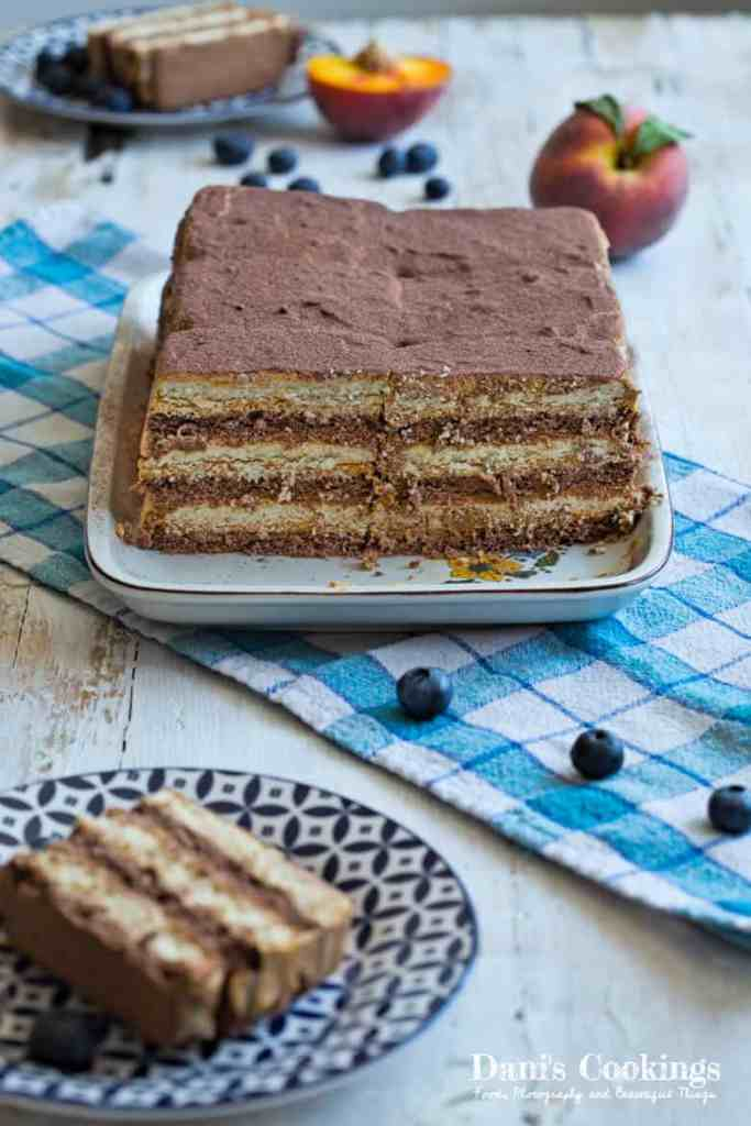 Easy icebox cake with Dulce de Leche