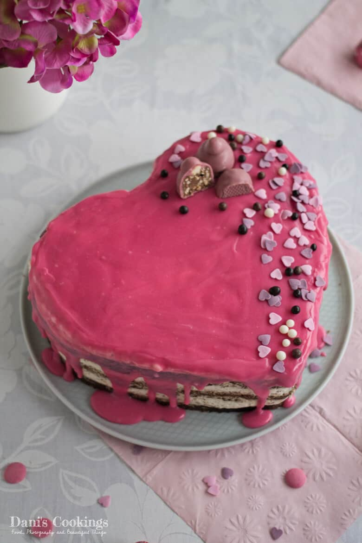 Easy Heart Shaped Cake Gluten Free Danis Cookings