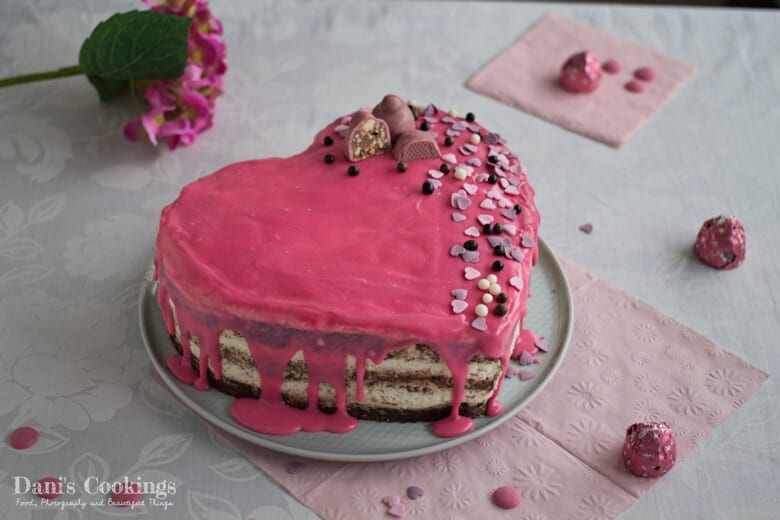 Easy Heart Shaped Cake