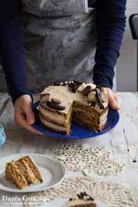 Chestnut and Spelt Cake with Beer