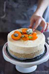 Тhis No Bake Cheesecake with Canned Apricots has a fresh summery taste but you can prepare it all around the year. It is delicious and full of flavour.