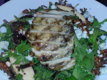 Sweet Apple Pecan Salad with Grilled Chicken - Dave & Buster's