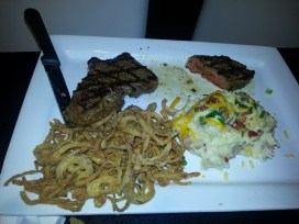 Chargrilled New York Strip - Dave & Buster's