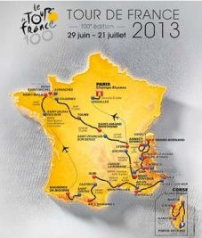 Tour De France Route 2013
