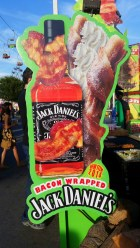 Bacon Wrapped Jack Daniels...A new item this year