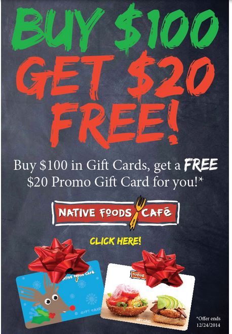 Holiday Gift Card Freebies and Deals for the Holidays ...
