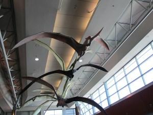 Pterodactyls sculpture