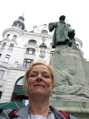 Gutenberg statue