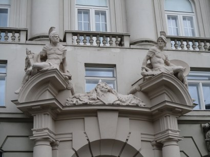More Hapsburg Palace Statues