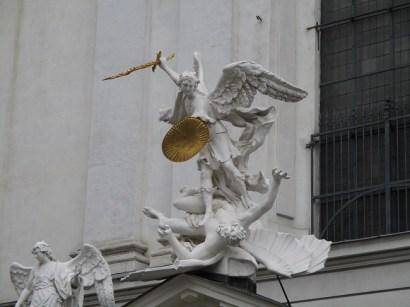 Hapsburg statue