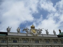 Random rooftop statues on the Hapsburg palace