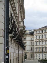 Wrought Iron planters, Vienna