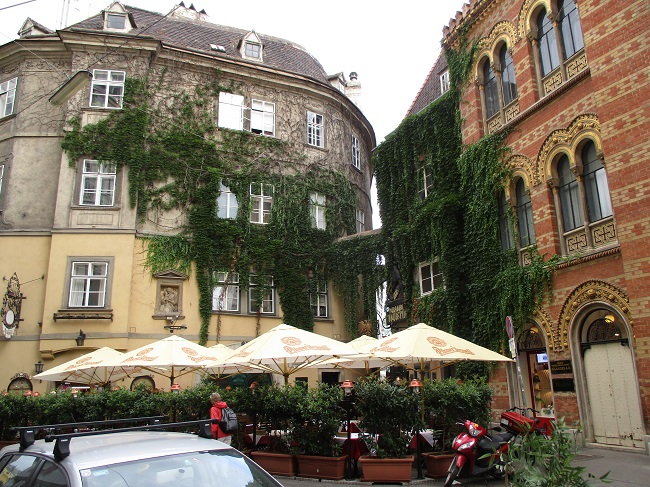 Square in Vienna