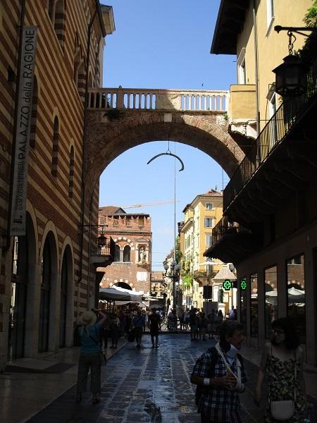 A Verona side street
