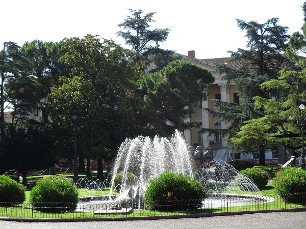 Verona Park near city hall