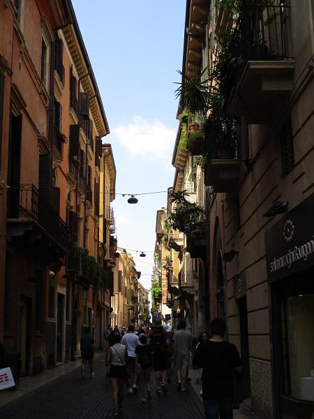Verona walking street