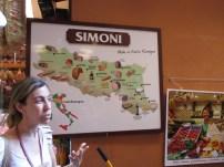 Food Map of delicacies of the Emilia Romagna