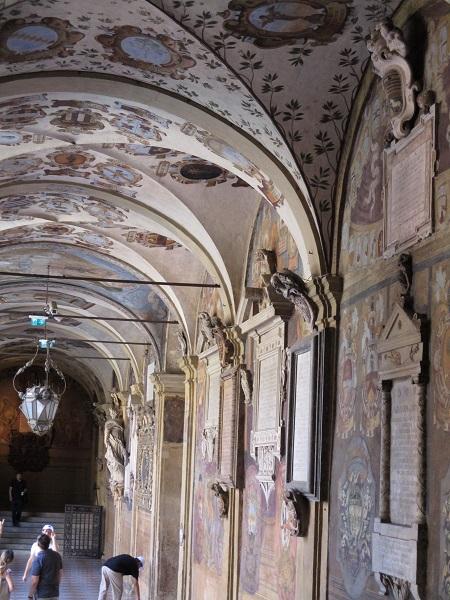 Oldest University Interior Courtyard