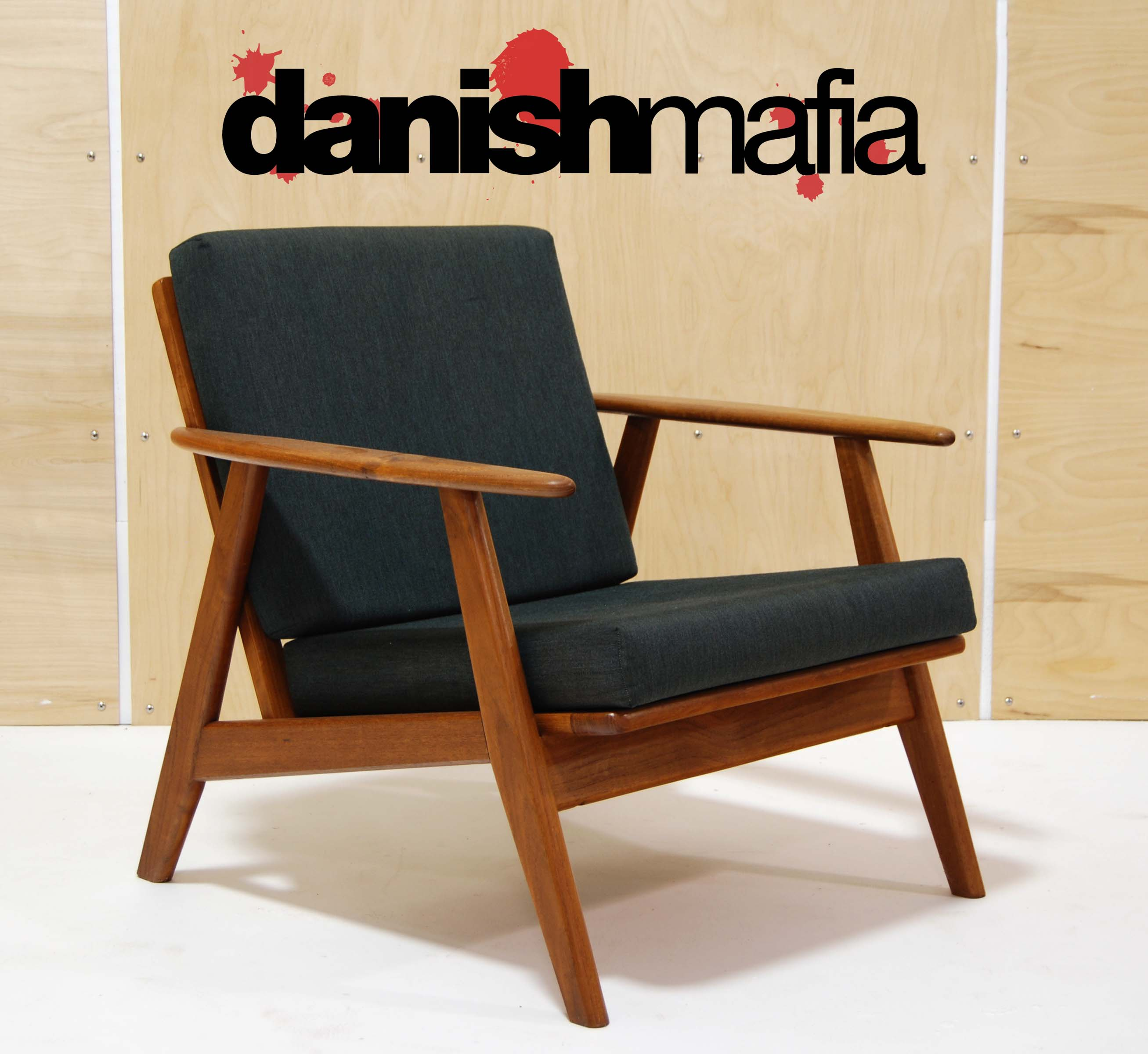 Mid Century Danish Chair Dsc 0387 F