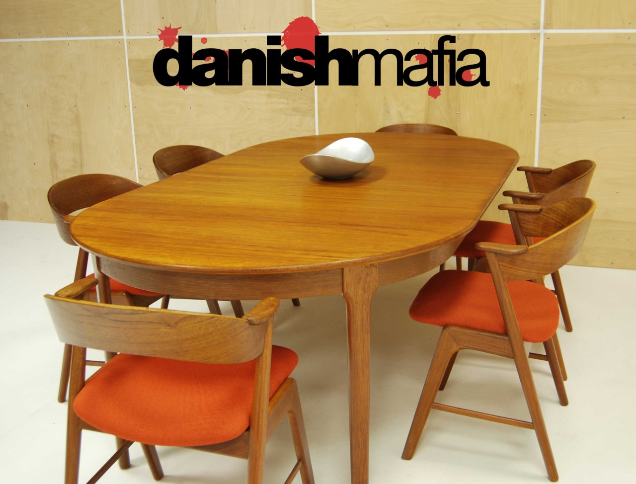 Modern Dining Table With Extension Mid Century Danish Modern Oval Henning Kjærnulf Teak Table