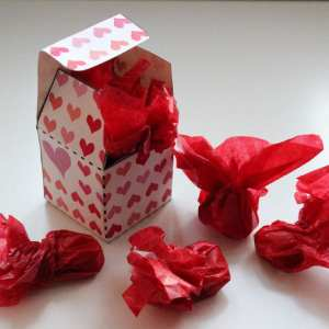 Valentine kærlighed gaveæske - love giftbox danish things @ danishthings.com