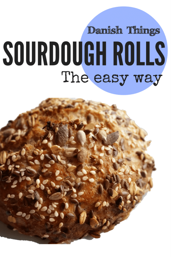 Sourdough rolls - the easy way @ danishthings.com