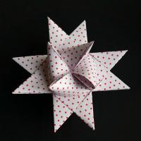 Sådan fletter du en julestjerne - trin for trin