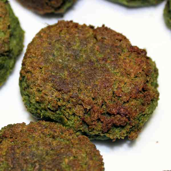 Spinat falafel - falafler med spinat