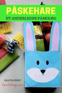 Påskehareæske - æske til påske Danish Things @ danishthings.com