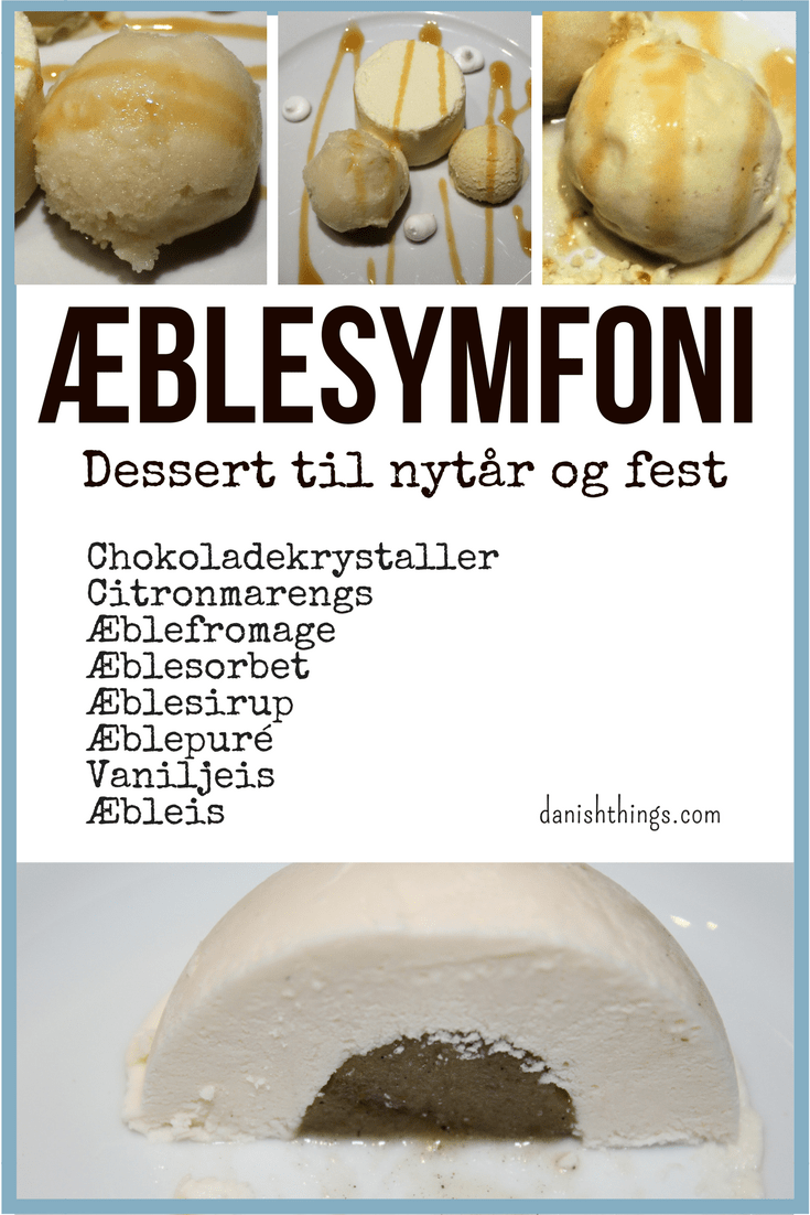 Lækre desserter med æble - Æblesymfoni - til nytår og andre fester del 1. Æblefromage, æblepuré og æblesirup - find opskrifter og inspiration på danishthings.com (Recipe in Danish)