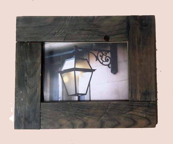 """תמונה עם מסגרת עץ מק""""ט: 1518"""