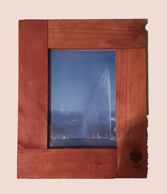 """תמונה עם מסגרת עץ מק""""ט: 1513"""
