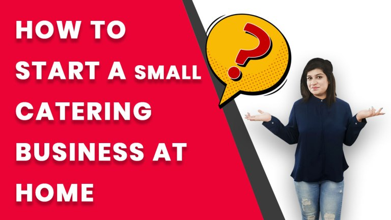 how to start a small catering business at home