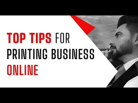 Tips for Printing Business