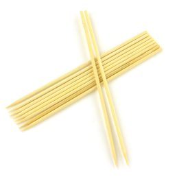 10 Natural Bamboo Skewers for Dank Paper Cannagar Molds – 6 inch length